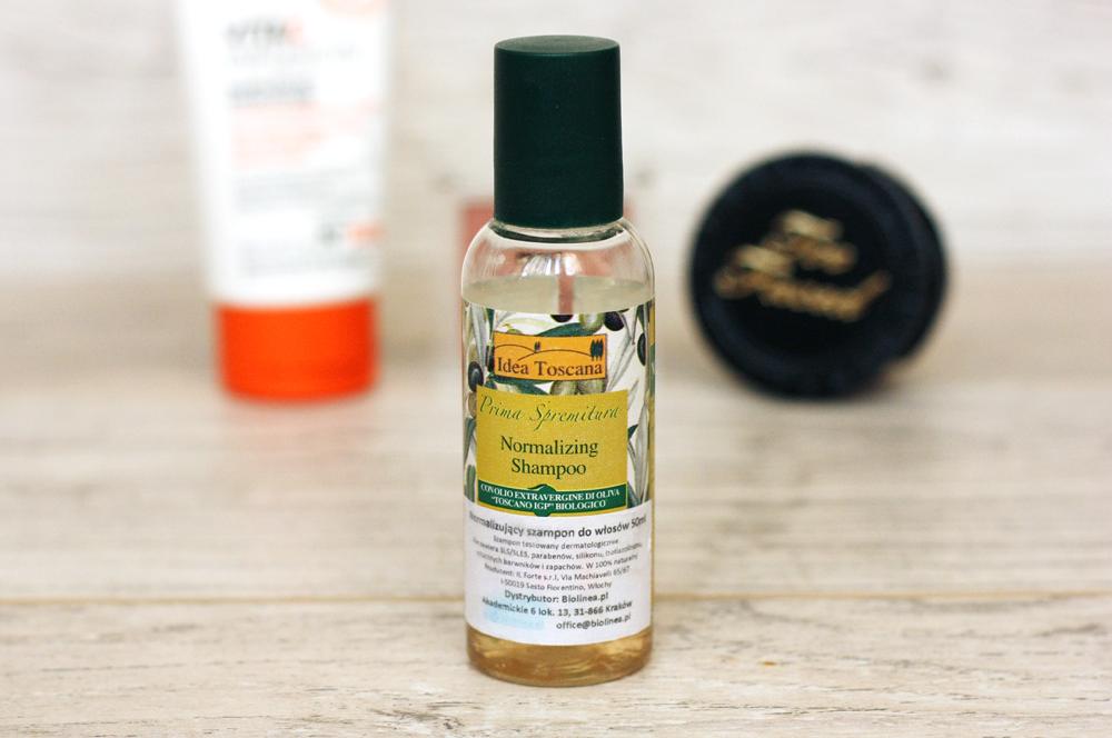 Normalizujący szampon do włosów Idea Toscana