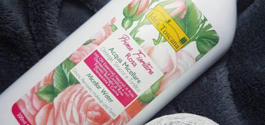 Naturalny płyn micelarny z różą Idea Toscana